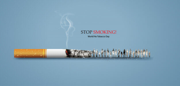 Know everything about the World No Tobacco day 2021- Theme, History and  Campaign - The Free Media